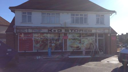 Reader David Smith wonders if anyone can throw any light on the old shop sign, come to light during