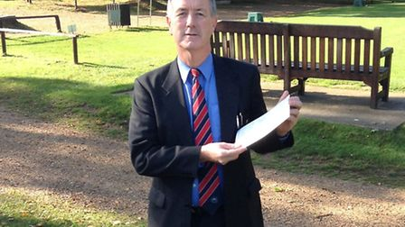 Thetford Golf Club manager Malcolm Grubb recorded his first ever hole-in-one at the 17th hole at Roy