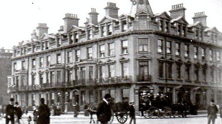 CHANGES AFOOT: The seafront Queen's Hotel in Great Yarmouth as it looked in 1889, four years after i