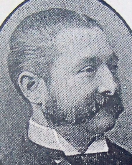 PROMINENT BUSINESSMAN: John Nightingale, original owner of the Queen's Hotel and involved in many lo