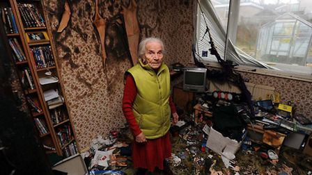 EADT NEWSRosa White stands in her grandson, Jans Schafar's, bedroom in her Brandon home after is wa