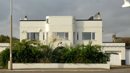 Struan House, the Gorleston Marine Parade Thirties-look home which played a strategic wartime role,