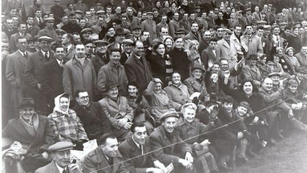 FASHIONS CHANGE...as do names. It is unlikely that any of these football fans at the Wellesley Road