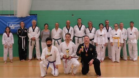 Mark Farnham Schools of Tae Kwon-Do who competed at the TAGB British Championships 2015 at Derby Are