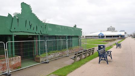 The former Amazonia attraction on Marine Parade in Great Yarmouth which is due to be demolished.Pict