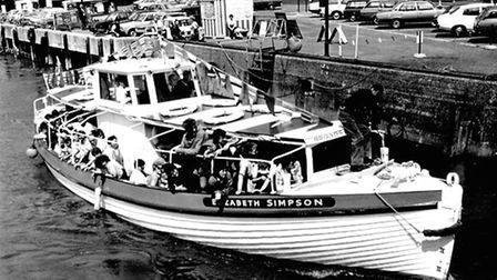 DISPLACED: the Gorleston Ranger Company's lifeboat Elizabeth Simpson, in service from 1889 to 1939,