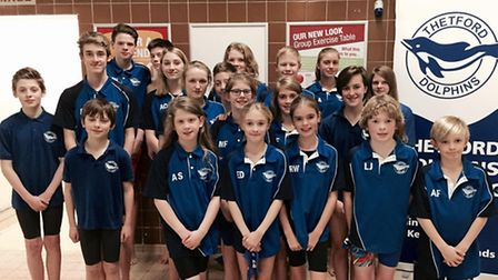 Thetford Dolphins made the short trip to Mildenhall for the West Row Coaches Trophy Gala.