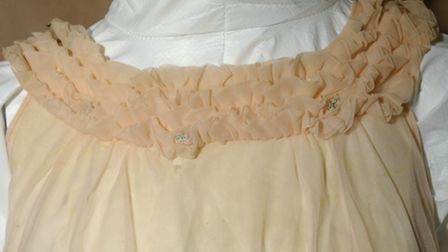 The pink nightdress worn by a woman whose headless body was found at Cockley Cley in 1974