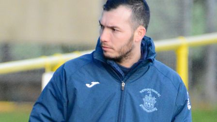 Danny White saw his Thetford team lose to Stanway. Picture: Steve Adams