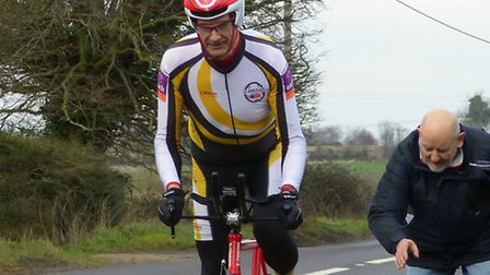 Cycling Club Breckland held their early season 10-mile time trial, Mark Fairhead in action. Picture: