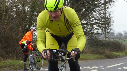 Cycling Club Breckland held their early season 10-mile time trial, Nick Parravani in action. Picture