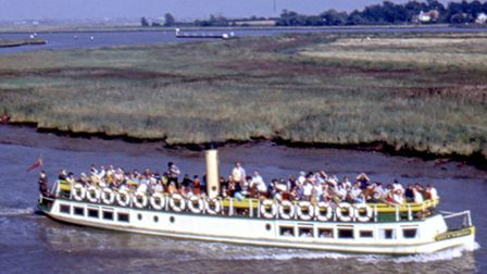 BYGONE DELIGHT: the Queen of the Broads in 1971.