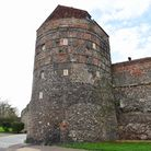 The South East Tower along Yarmouth's mediaeval town wall has been converted in holiday accomodation