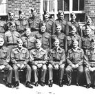 ON (PICTURE) PARADE: Members of the 11th Battalion, Norfolk Home Guard, C Company, at the Hospital S