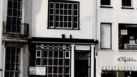 BROADCASTING HOUSE: the two properties on Hall Quay in Great Yarmouth which comprised the headquarte