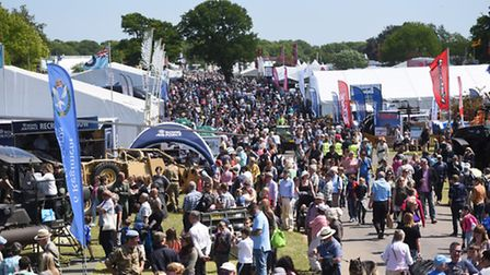 Suffolk Show - one of the county's best-loved attractions.