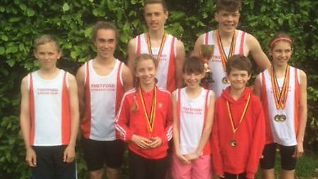 Thetford Dolphins were in fine form at the Norfolk Track and Field Championships.