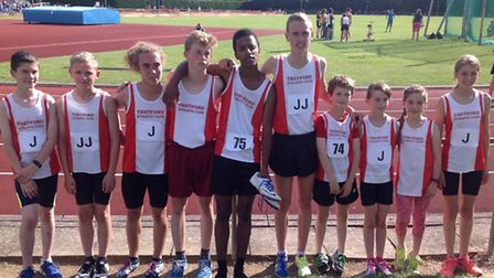 Thetford athletes were in fine form in the East Anglian League.