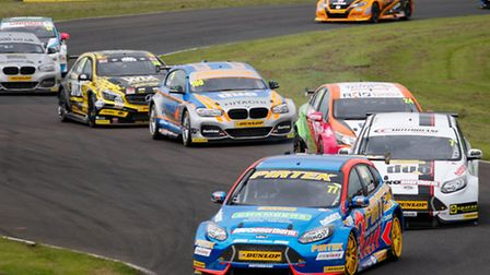 The British Touring Cars will be back at Snetterton this weekend. Photo: Submitted