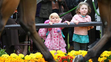 Children at Great Yarmouth racecourse. Picture: Submitted