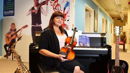 Allens Music Centre which is now the home to Allens School of Music run by Louise Warnes. Picture: