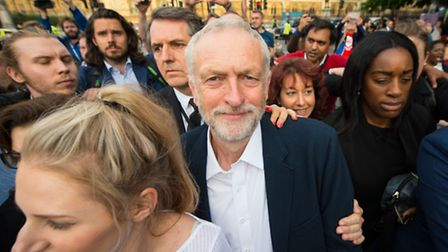 Jeremy Corbyn is facing off a leadership challenge from Owen Smith. Photo: Dominic Lipinski/PA