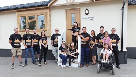 A team of employees from Omar in Brandon are taking on the Three Peaks Challenge to raise money for