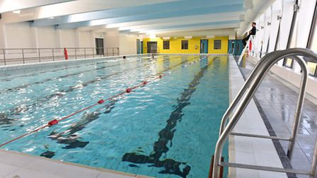 The newly refurbished and extended Phoenix Pool and Gym in Bradwell, Great Yarmouth.