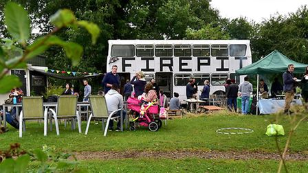 Fire Pit Camp as part of Brecks Food and Drink Festival. Picture: ANTONY KELLY