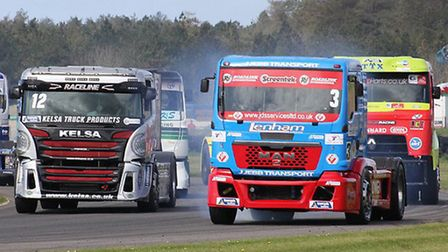 The British Truck Racing Championship headlines a weekend of family fun at Snetterton on 10/11 Septe