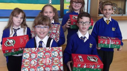 Wroughton shoebox appeal