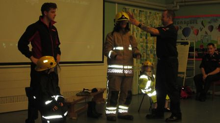 Firefighters visit Northgate Primary School