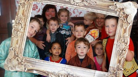 Children enjoyed a visit to Planet Spice in Ormesby to mark the Hindu festival of Diwali.