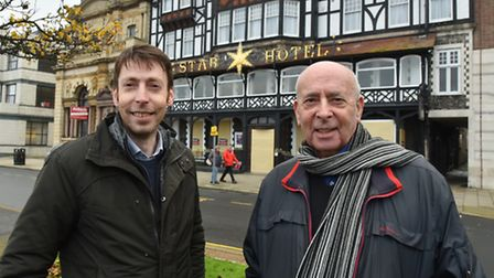 Howard Bossick and his son Paul have taken over The Star hotel in Great Yarmouth after it closed sud