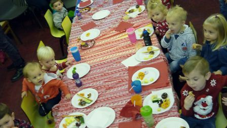 On Friday December 9 Bradwell Tots Friday Group held its annual Christmas party at the Community Ce