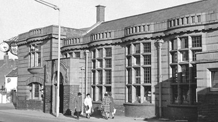 Places - G The old Gorleston Carnegie Library Dated 20th October 1973 Photograph C1031 Gould