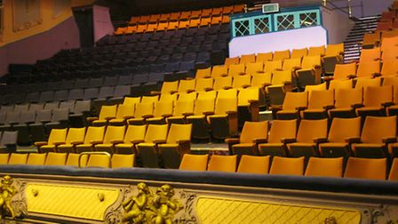 Caroline Thompson's pictures of the interior of Great Yarmouth's Regent cinema. Picture: Caroline Th