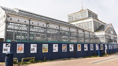 The Grade II-listed Winter Gardens, on South Beach Parade. Picture: James Bass