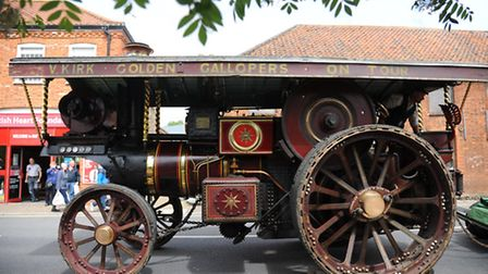 The Charles Burrell Museum's steam engine Queen Mary. Picture: Sonya Duncan