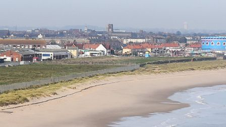 A view of the South Denes area and seafront in Great Yarmouth. Picture: James Bass