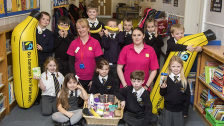 Cobholm youngsters enjoyed learning about FairtradePicture: Anglia Picture Agency