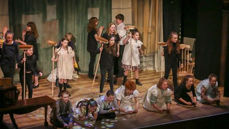 Cliff Park Academy performed the classic musical Annie at St George's Theatre in Great Yarmouth.