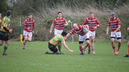 Thetford on their way to victory. Picture: Paula Groombridge