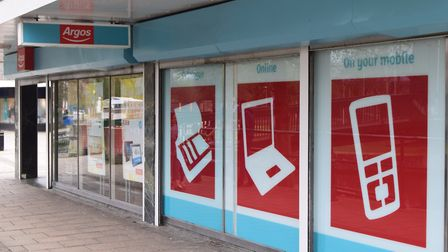 Argos' old store in Riverside Walk, Thetford. Picture: ANDREW PAPWORTH
