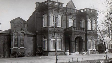 Gorleston Hospital, demolished in 1988, was the grateful recipient of fresh eggs from audiences at c