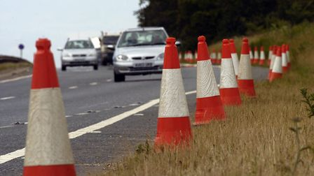 The B1160 at Methwold will be closed for a day for carriageway repair works. Picture: Archant Librar