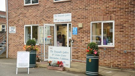 The Dragonfly Gallery in Watton. Picture: Ian Burt