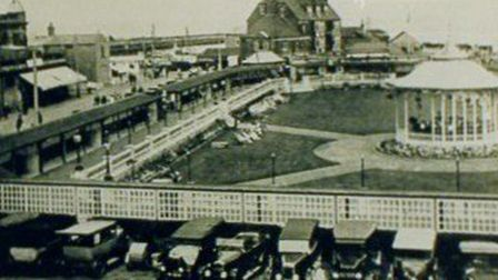 Where's the swimming pool and Floral Hall? This was the scene in the mid-1930s, before they were bui