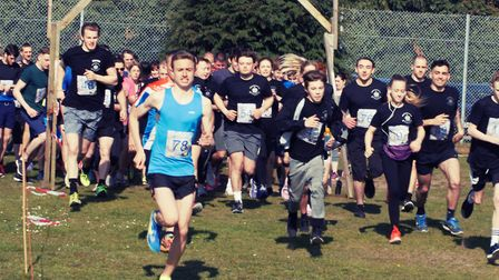 The Charles Burrell Centre's 5k cross country run in Thetford. Picture: Charles Burrell Centre