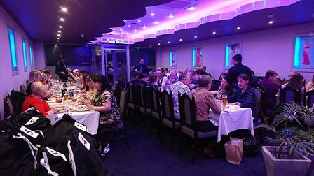 Curry evening helps to raise money for Thetford mayor Terry Jermy's charity fund. Picture: Terry Jer